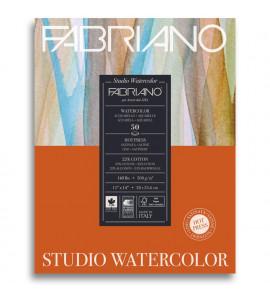 Bloco Fabriano Watercolor Satinado 50 folhas 300g/m² 28x35.6cm
