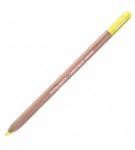 Lápis Pastel Seco Caran D'Ache Lemon Yellow 240