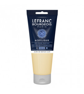 Tinta Acrílica Lefranc & Bourgeois 200ml 887 Naples Yellow Light
