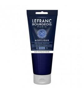 Tinta Acrílica Lefranc & Bourgeois 200ml 095 Phthalocyanine Blue