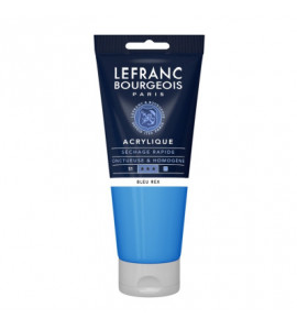 Tinta Acrílica Lefranc & Bourgeois 200ml 067 Royal Blue