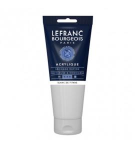 Tinta Acrílica Lefranc & Bourgeois 200ml 008 Titanium White