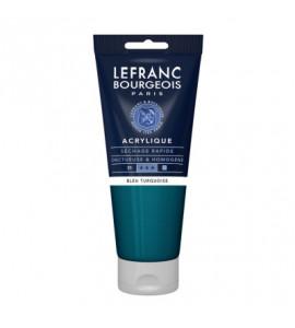 Tinta Acrílica Lefranc & Bourgeois 200ml 050 Turquoise Blue