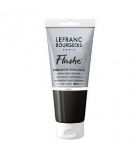 Tinta Acrílica Flashe Lefranc & Bourgeois 80ml S1 265 Black