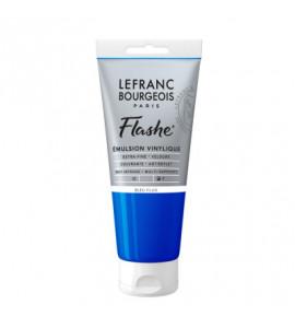 Tinta Acrílica Flashe Lefranc & Bourgeois 80ml S3 083 Fluorescent Blue