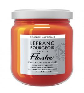 Tinta Flashe Japanese Orange Lefranc Bourgeois 400ml
