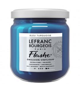 Tinta Flashe Turquoise Blue Lefranc Bourgeois 400ml