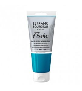 Tinta Acrílica Flashe Lefranc & Bourgeois 80ml S1 050 Turquoise Blue