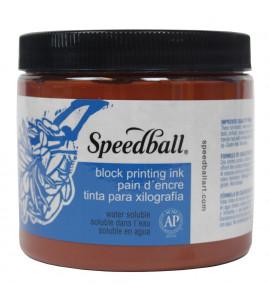 Tinta Para Xilogravura Speedball 470ml 3706 Marrom