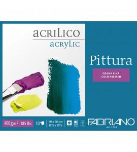 Bloco Fabriano Pittura 400g/m² 40x50cm