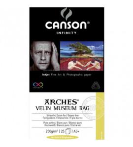 Arches® Velin Museum Rag 250g/m²  A3 25 Folhas