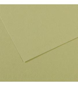 Papel Mi-Teintes Canson 480 Verde Amêndoa 50x65cm