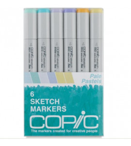 Copic Markers 06 Pale Pastels