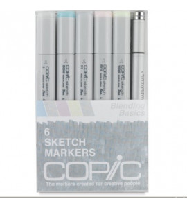 Copic Markers 06 Blending Basics