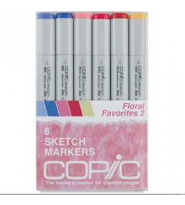 Copic Markers 06 Floral Favorites 2