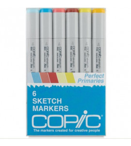 Copic Markers 06 Perfect Primaries