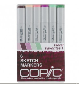 Copic Markers 06 Floral Favorites 1