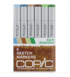 Copic Markers 06 Earth Essentials