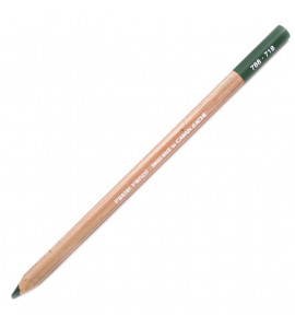 Lápis Pastel Seco Caran D'Ache Middle Phthalocyanine Green 718