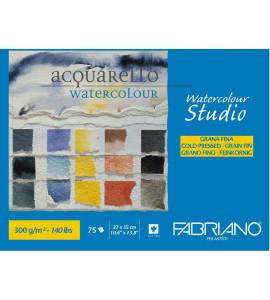Bloco Fabriano Watercolor Studio 300g/m² 27x35cm