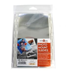 Porta Fotos Transparente 12,75x17,75cm Lineco 780-0507
