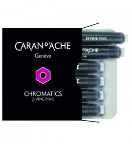 Cartucho Caneta Tinteiro Caran d'Ache Chromatics Divine Pink