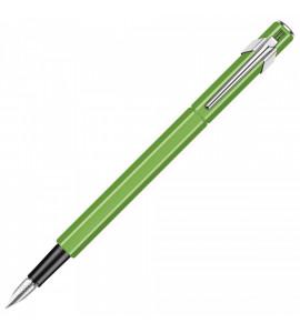 Caneta Tinteiro Caran d'Ache Pena M 849 Verde Fluo