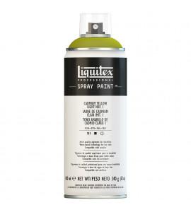 Tinta Spray Liquitex Acrílica 1159 Cadmium Yellow Light Hue 1 400ml