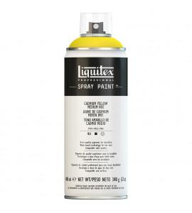 Tinta Spray Liquitex Acrílica 0830 Cadmium Yellow Medium Hue 400ml