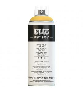Tinta Spray Liquitex Acrílica 0163 Cadmium Yellow Deep Hue 400ml