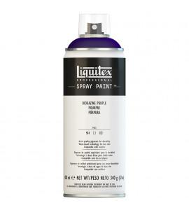 Tinta Spray Liquitex Acrílica 0186 Dioxazine Purple 400ml