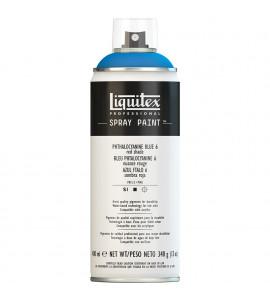Tinta Spray Liquitex Acrílica 6316 Phthalo Blue ( Red Shade ) 400ml