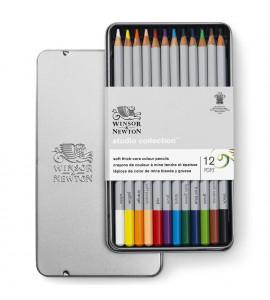 Lápis Winsor e Newton Studio Colletion 12 Cores