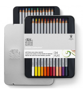 Lápis Winsor e Newton Studio Colletion 24 Cores