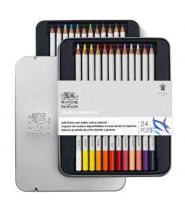 Lápis Winsor e Newton Aquarelável 24 Cores