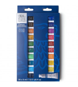 Kit Tinta Aquarela Winsor & Newton Cotman C/20 5ml