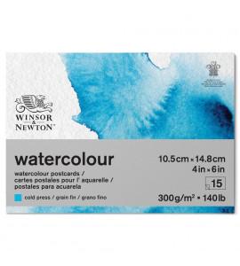 Cartão Postal Para Aquarela Winsor & Newton 300g/m² A6