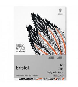 Bloco Bristol Winsor e Newton A3 250g 20 Folhas