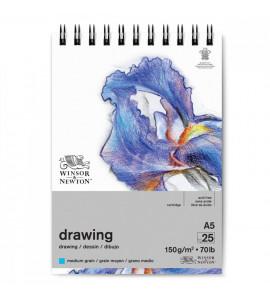 Bloco Drawing Winsor e Newton A5 150g 25 Folhas
