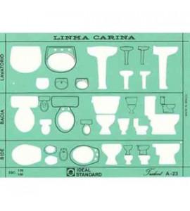 Gabarito Arquitetura Trident Sanitários A23