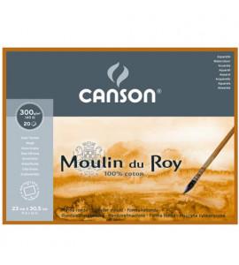 Bloco de Papel Para Aquarela Moulin du Roy 30,5x45,5cm TT