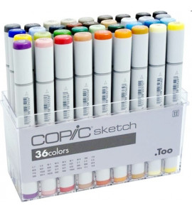 Caneta Copic Marker Sketch 36 Cores