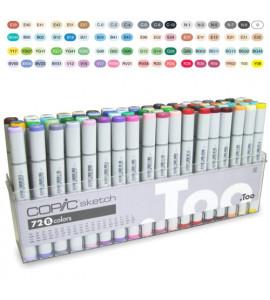 Caneta Copic Marker Sketch B 72 Cores