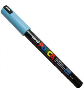 Caneta Posca Uni Ball PC-1MR Pastel Azul