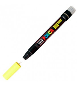 Marcador Posca Brush Pen PC-350 Amarela