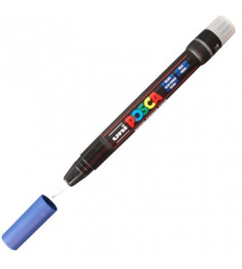 Marcador Posca Brush Pen PC-350 Azul