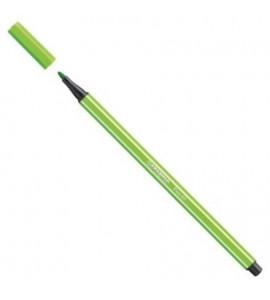 Caneta Stabilo 68 33 Verde Maçã