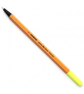 Caneta Point 88 Stabilo Neon 0.4mm 04 Amarelo