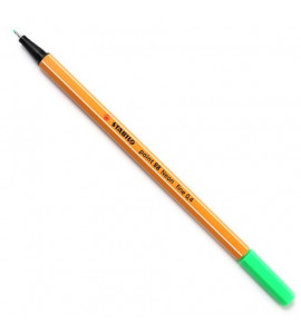 Caneta Point 88 Stabilo Neon 0.4mm 033 Verde