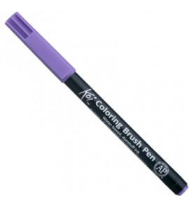 Caneta Sakura Ponta de Pincel 224 Light Purple